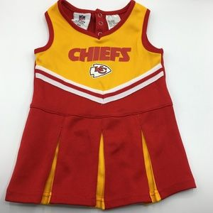 NFL Team Apparel Kansas City Chiefs Cheerleader